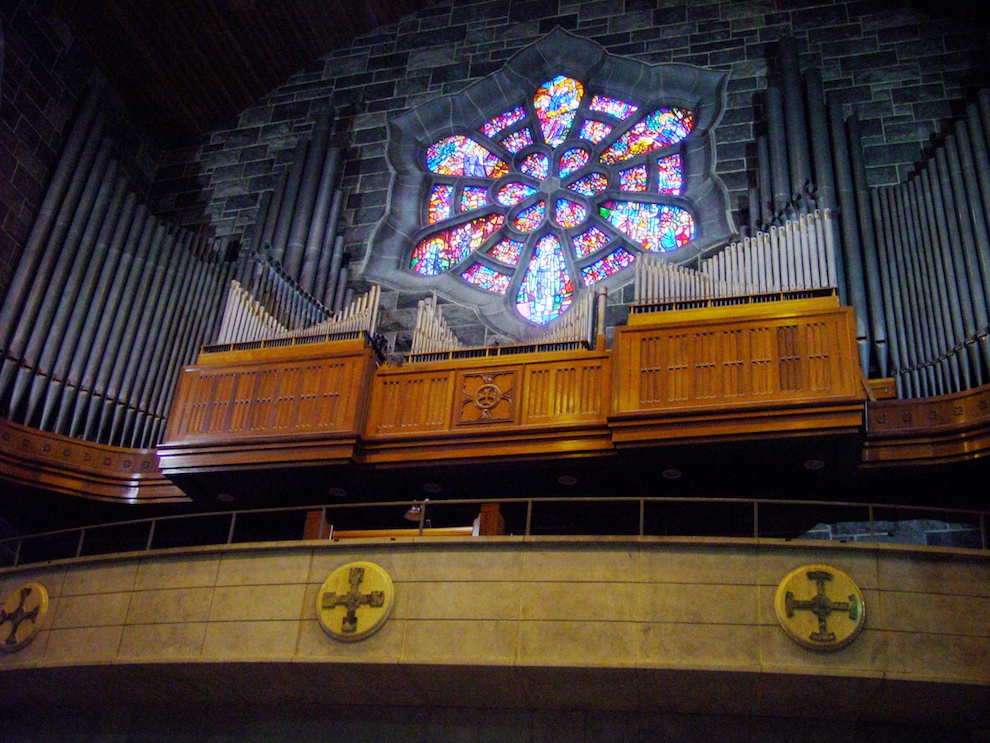Organ in Galway Cathedral
